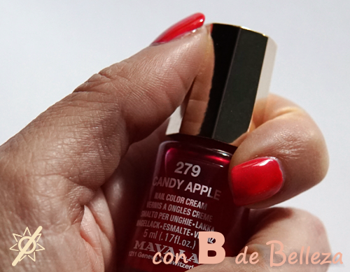 Swatch 279 Candy apple Mavala