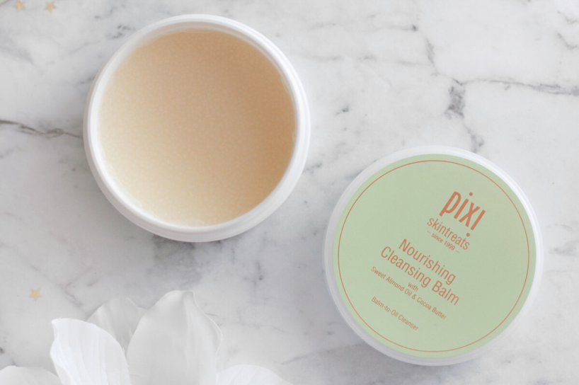pixi beauty nourishing cleansing balm review
