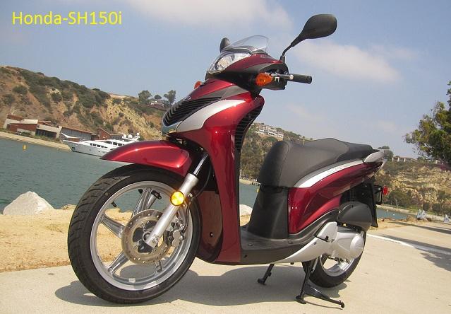 Honda-SH150i Sang Penantang Vespa Piaggio
