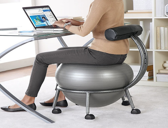 best buy ergonomic office chair ball for sale