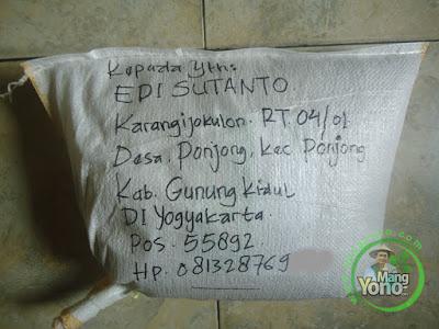 Benih Padi TRISAKTI untuk Edi Sutanto DI Yogyakarta   sebanyak 5 Kg atau 1 Bungkus