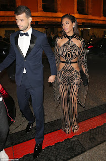 Grigor Dimitrov And His Girlfriend Nicole Scherzinger At An Event