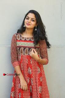 Telugu Actress Nikhila Vimal Latest Stills in Anarkali Dress  0084.JPG