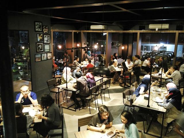 the kafe padang susana lantai 1