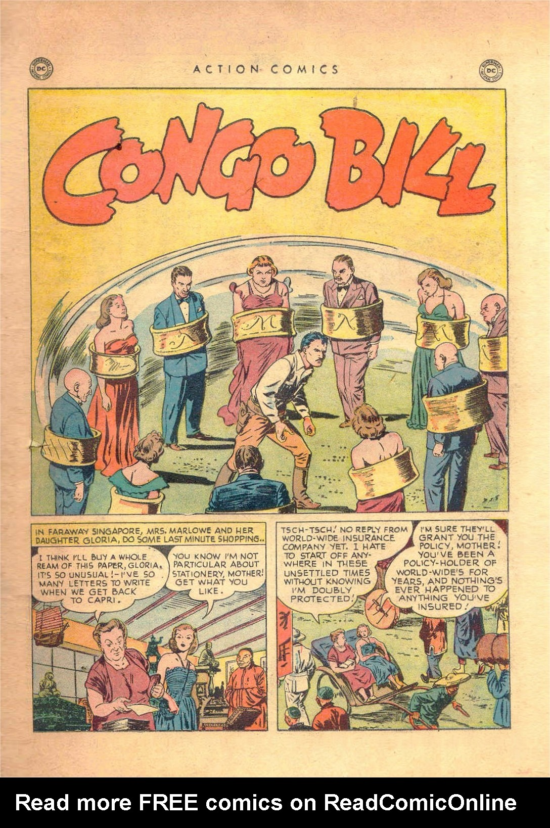 Read online Action Comics (1938) comic -  Issue #138 - 32