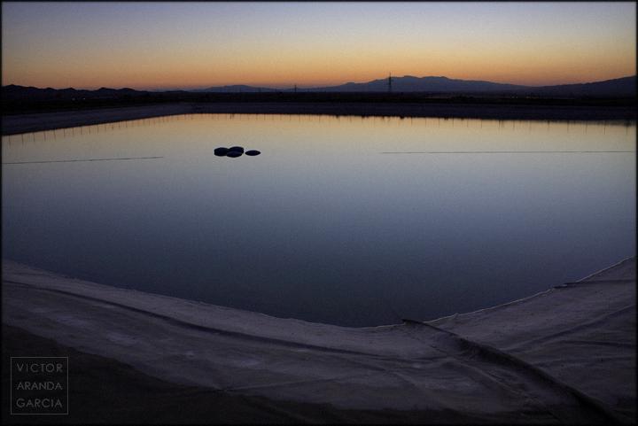 fotografia,balsa,atardecer,murcia,reflejo,agua,paisaje