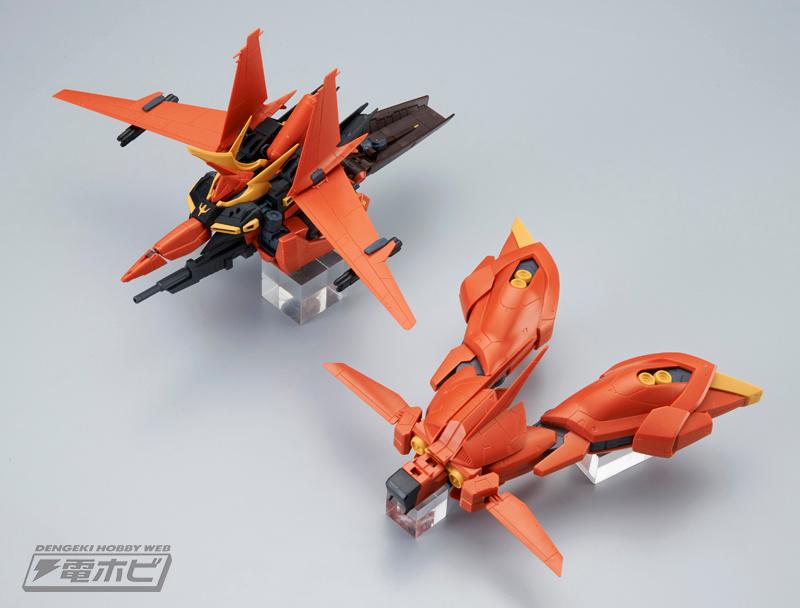 RE/100 AMX-107 Bawoo Sample Images by Dengeki Hobby