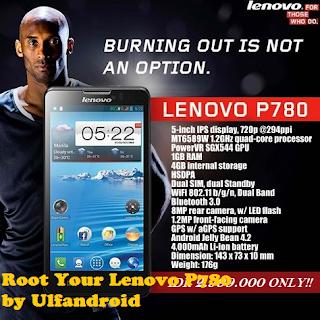 Cara Mudah Root Lenovo P780 Kitkat S220, S222 & S226