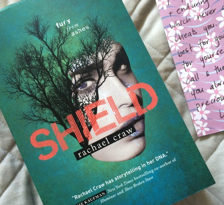 """Shield"" - Book #3 in the most excellent SPARK series by Rachael Craw"