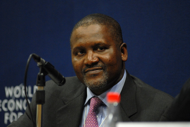 NAIJAFEED: Aliko Dangote is now 43rd richest man in the world