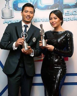 Fattah Amin & Janna Nick Di ABPBH30, Pelakon TV Lelaki & Wanita Popular,