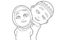Buah Dalam Keranjang Donwload Belajar Menggambar Mewarnai Buah Dalam Keranjang Kuro