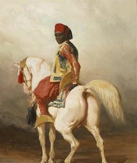 moorish horse rider fez