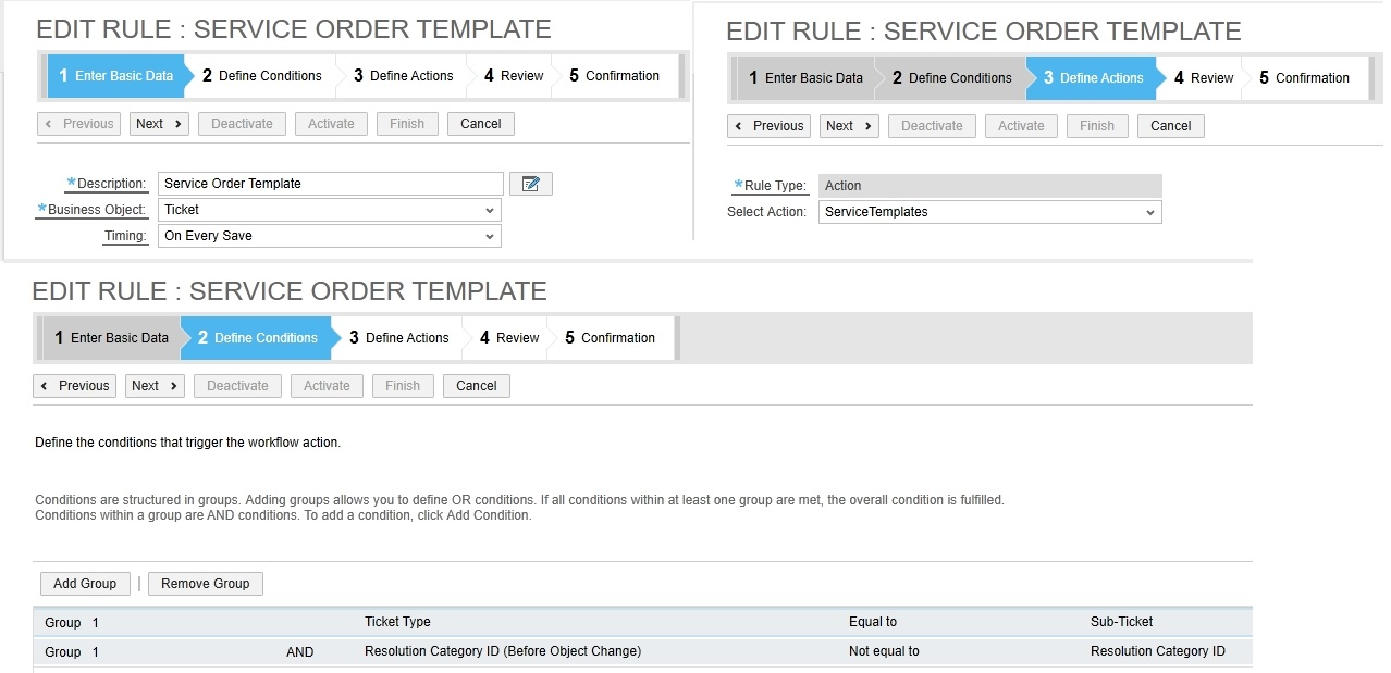 SAP Customer Experience: Service Request Templates Solution for C4C