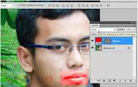 Cara Membuat Bibir Merah difoto