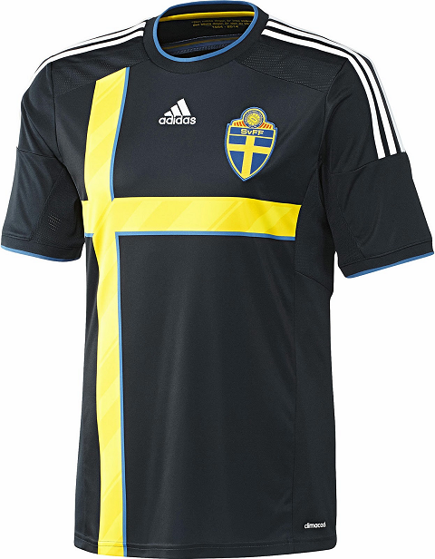 8145c365a1 Adidas apresenta o novo uniforme reserva da Suécia. A Suécia apresentou sua nova  camisa ...