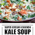 Creamy Chicken Kale Soup (Paleo & Whole30)
