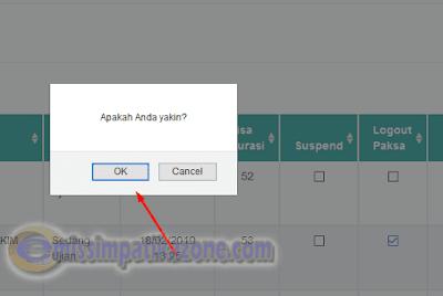 Cara Menggunakan Fitur Logout Paksa Pada Aplikasi UAMBNBK