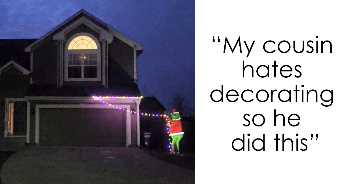 24 Pictures Of Christmas Decorations Prove That Even The Laziest Ones Can Come Up With Creative Ideas