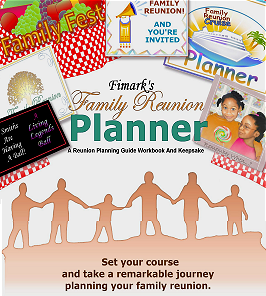 Fimark's Family Reunion Planner and Keepsake Guidebook