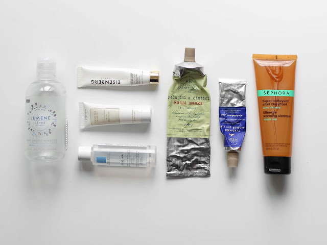 spotřebováno pečující kosmetika recenze a zkušenosti