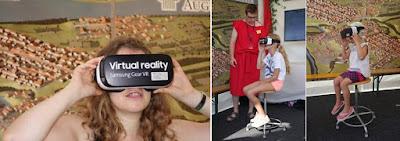 Achtung Festhalten: Virtuelle Zeitreise in die historische Römerstadt