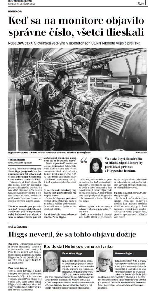 fotka v novinách