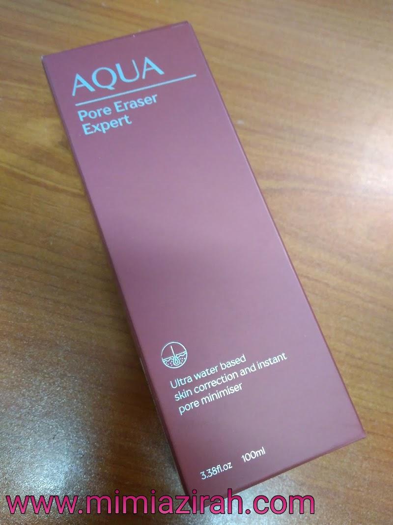 Aqua Pore Eraser Expert Merawat Masalah Kulit Wajah