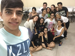 Alunos extensionistas do campus da UFCG de Cuité participam de curso de Teatro