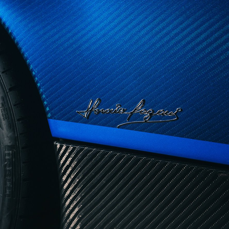 Pagani Huayra Bc For Sale Production 20 Cars: Blue Carbon Pagani Huayra BC Is One-Of-A-Kind