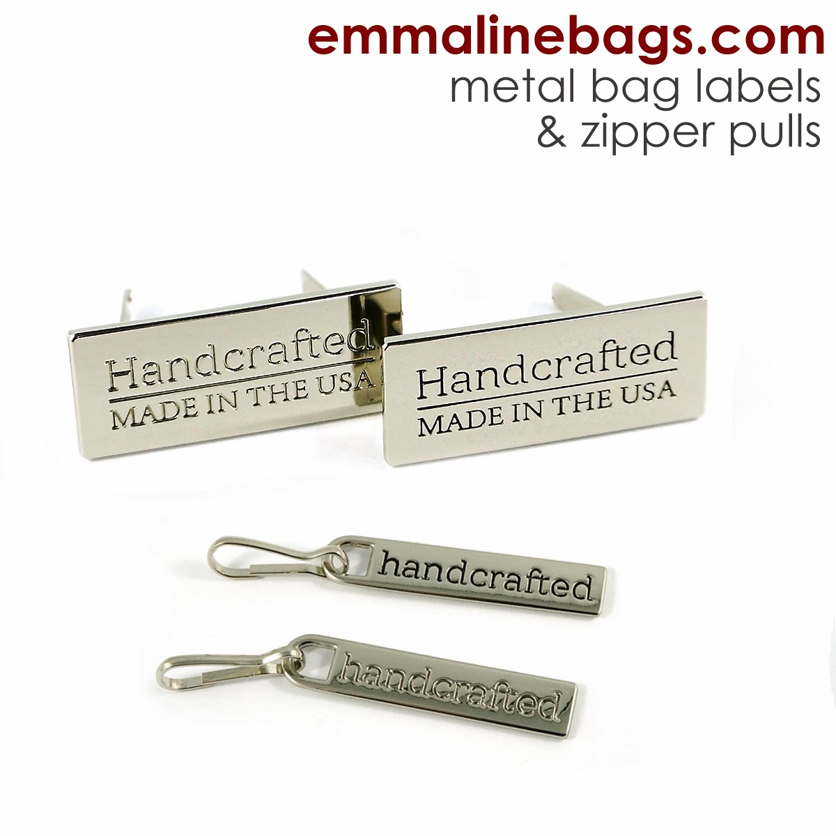 Made in USA labels and zipper pulls