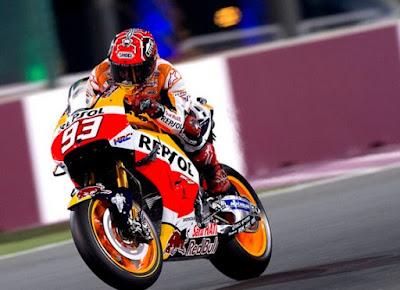 Michelin Tak Ubah Gaya Balap Marquez, Tetap Beringas dan Menakutkan!