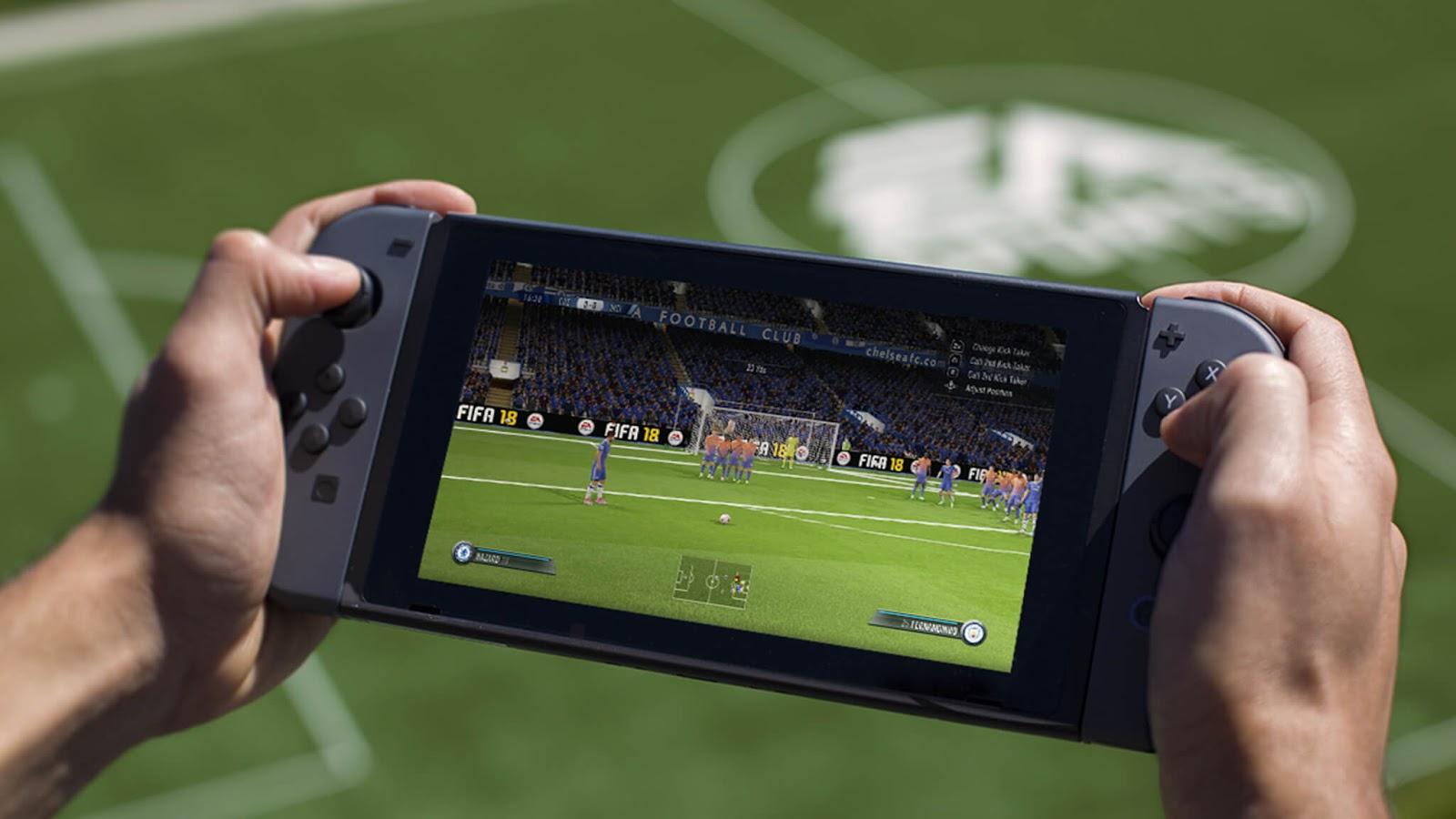 FIFA 18 de Switch vai ter Ultimate Team