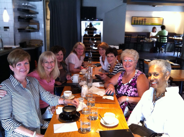 My first Nepean Ladies lunch in 2013.