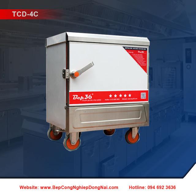 Tủ nấu cơm 4 khay dùng điện TCD-4C
