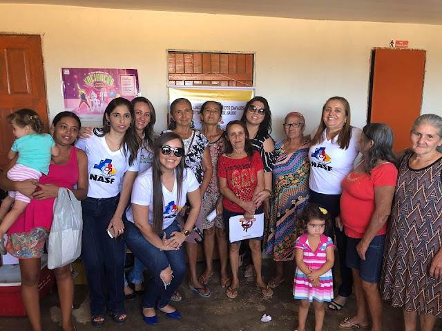 Secretaria de Saúde de Riacho dos Cavalos, realizou mais uma edição do Projeto Ciranda do Cuidado, na zona rural do município