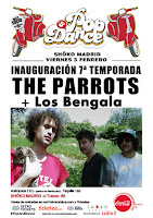 Concierto de Los Bengala y The Parrots en Shoko
