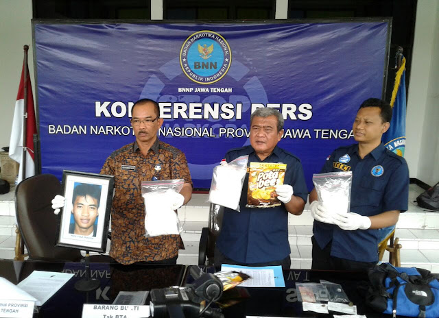 BNNP Jateng Tembak Mati Anggota Jaringan Narkoba, 1 Ditembak Kakinya, 2,1 Kg Sabu Disita