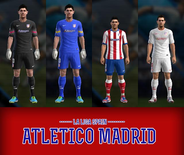 Pes 2013 Pc Edições Evolution: [PES 2013 PC] Uniformes 2014/2015 Atlético De Madrid