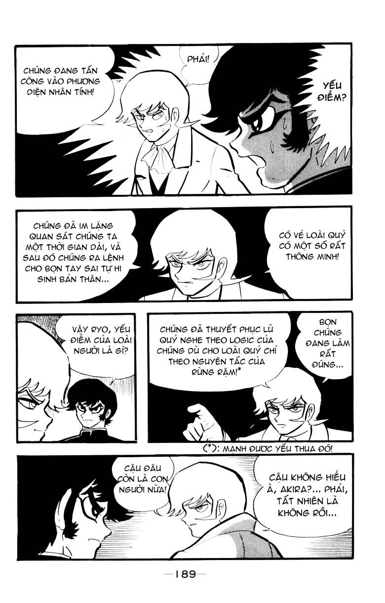 DevilMan chapter 15 trang 25
