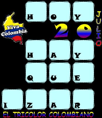 Criptoaritmética, Alfamética, Criptosuma, Día de la Independencia, 20 de Julio.