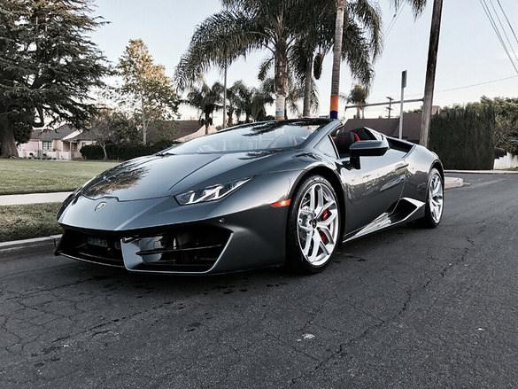 Lamborghini Huracan Spyder Rental