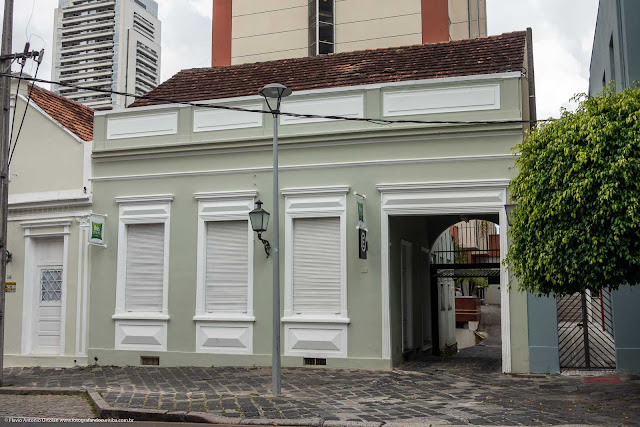 Casa antiga na Rua Mateus Leme