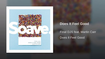 FINAL DJS Feat. Martin Carr | Does It Feel Good | SOTD