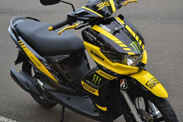 Modifikasi Yamaha Mio Soul Gt 2013 Modifikasi Motor Kawasaki Honda