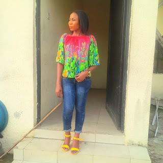 Photos: AIT staff fighting for her life in Bayelsa after being robbed and shot at close range on her way home from Shiloh