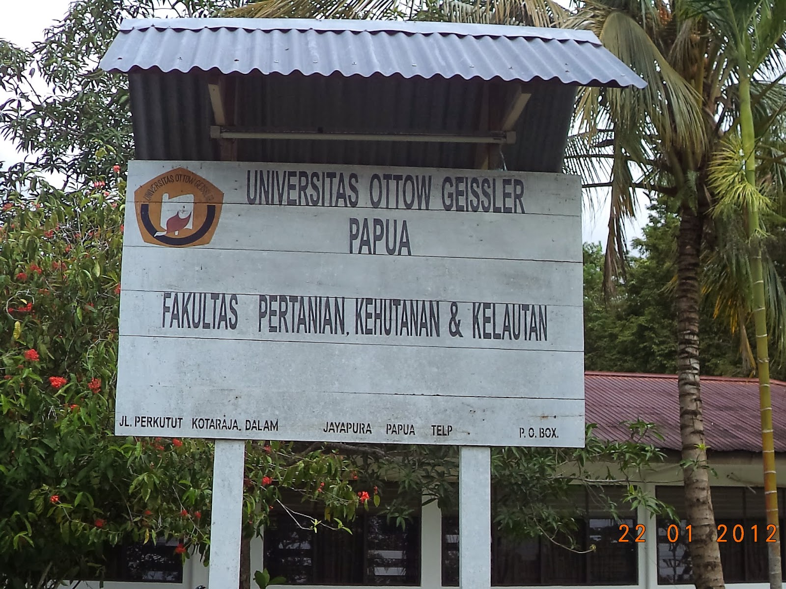 Fakultas Pertanian, Universitas Ottow Geissler Papua.