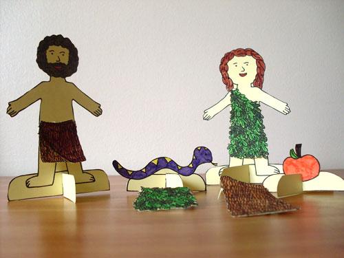 Desde mi rincón de religión: Adán y Eva