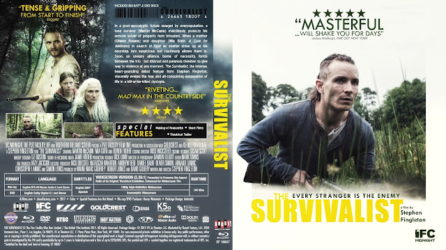 The Survivalist Bluray Cover