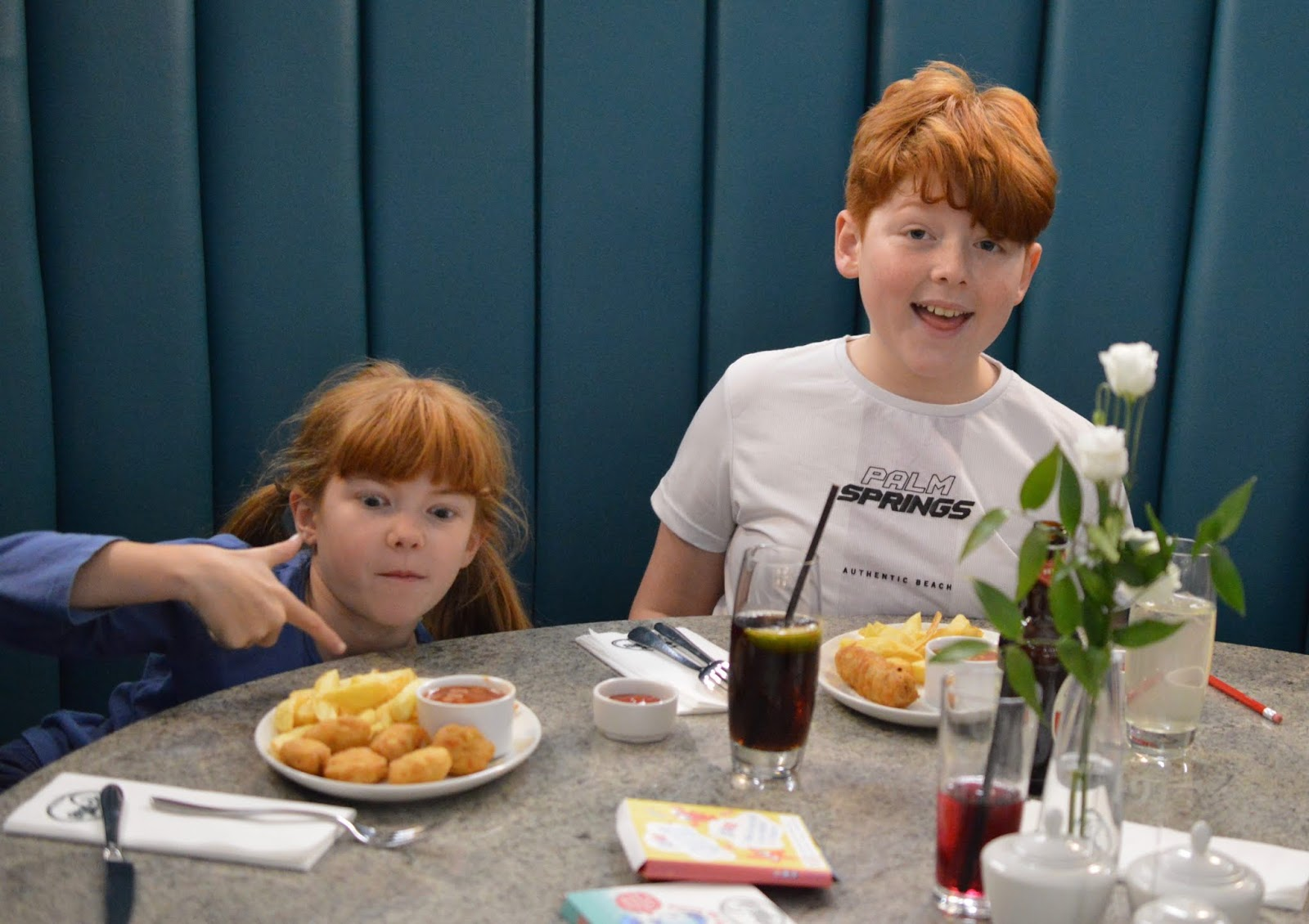 Fish and Chips with Kids at Trenchers, Spanish City - A Review - children's menu